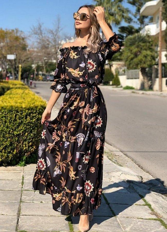 πολυμορφικό maxi φόρεμα - Parizianista.gr 8f19c32faa0