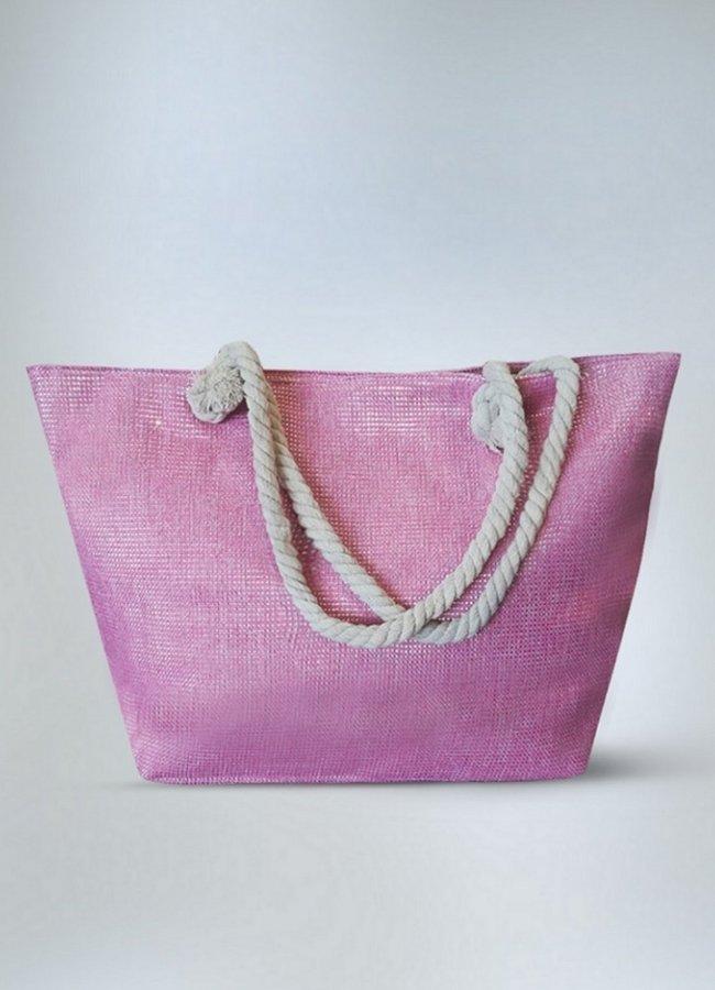 lurex τσάντα θαλάσσης