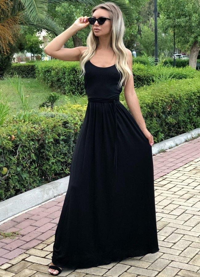 76230e08d254 maxi φόρεμα με ανοιχτή πλάτη - Parizianista.gr