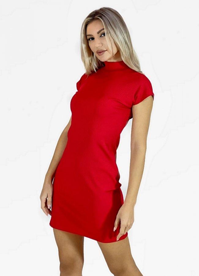 μίνι ελαστικό φόρεμα ζιβάγκο