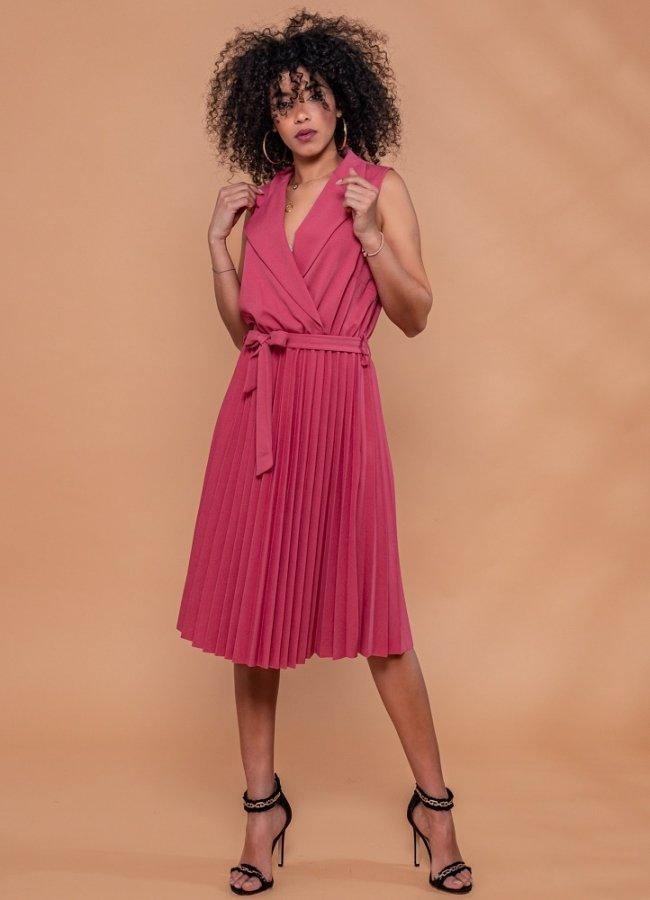 μίντι κλος φόρεμα