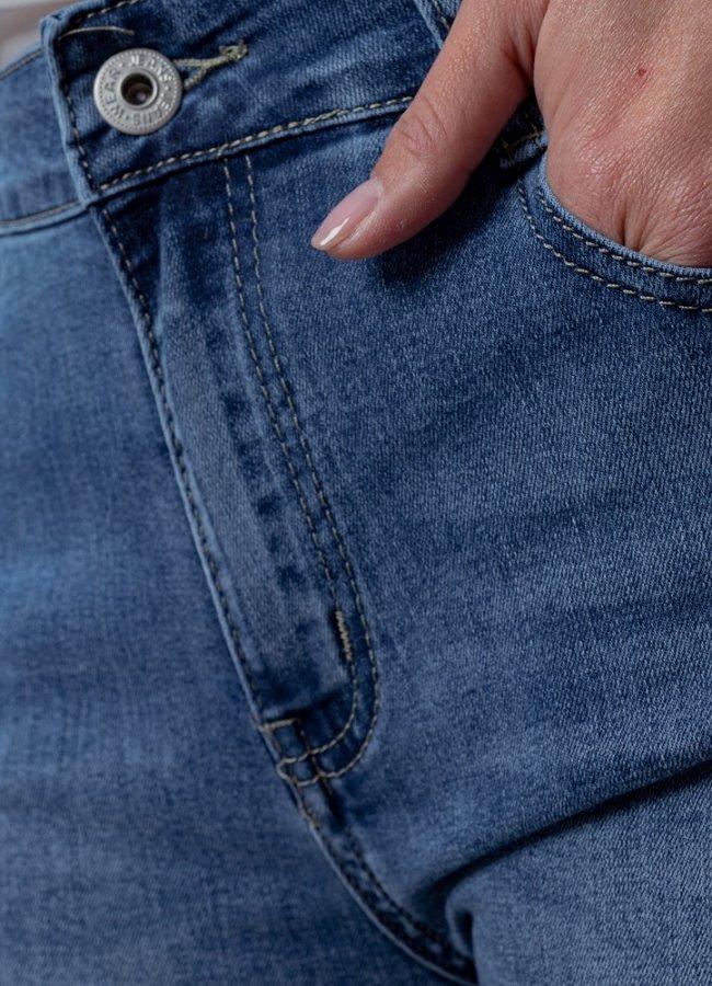 παντελόνι ψηλόμεσο ελαστικό καμπάνα